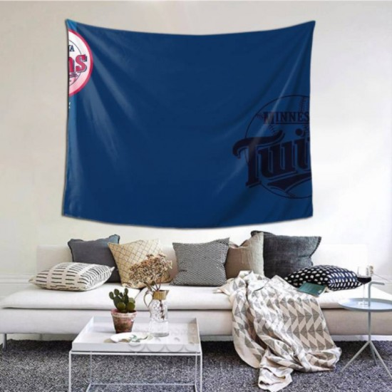 Durable Minnesota Twins tapestry 60*51inch #151723 For Beach Shawl, Scarf, Blanket