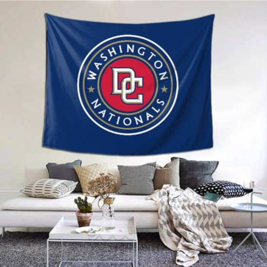 Durable Washington Nationals tapestry 60*51inch #154554 For Beach Shawl, Scarf, Blanket