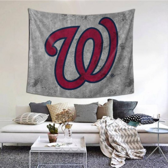 Wall Hangings Washington Nationals tapestry 60*51inch #154504 Can Be As A Decoration